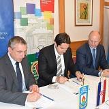 Potpisan ugovor s Ministarstvom graditeljstva i prostornog uređenja vrijedan 1,96 milijuna kuna