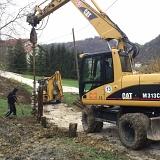 Započeli radovi na sanaciji klizišta u Pregrada Vrhima