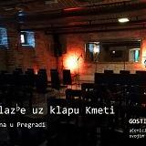 Večer glazbe uz klapu Kmeti u pregradskoj Gradskoj kavani