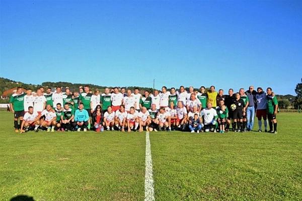 Održana je humanitarna nogometna utakmica između Humanih zvijezda Hrvatske i veterana NK Pregrade (Foto: zagorje.com)